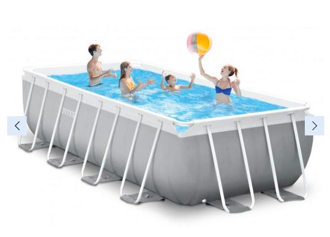 Bazén Intex Prism Frame 4,88 x 2,44 x 1,07 m | kompletset s filtrací
